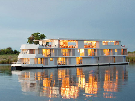 Zambezi Queen Luxury River Safari Boat