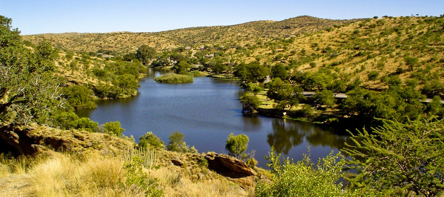 Hiking trails in Daan Viljoen National Park