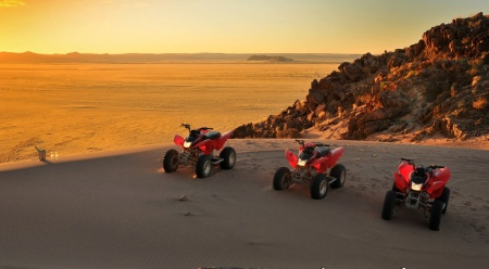 Quad bike tours Namib-Naukluft Park